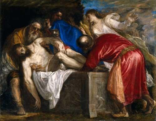 Entierro de Cristo, El [Tiziano] - 1559