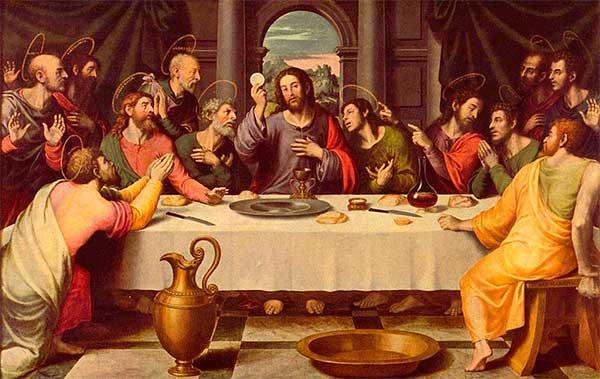 La Santa Cena  de Juan de Juanes