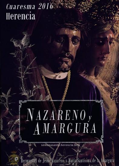 Cartel de la Semana Santa 2016 - Hermandad de Jesús de Nazareno y María Santísima de la Amargura