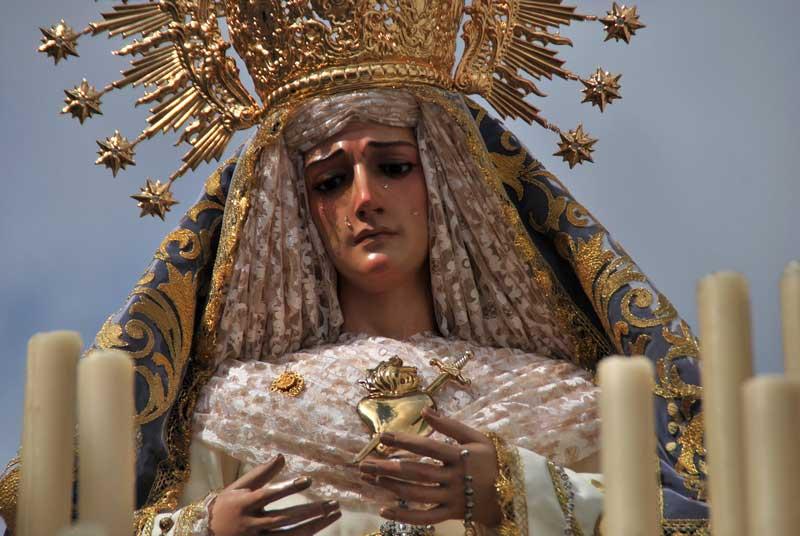 Virgen de la Amargura Herencia