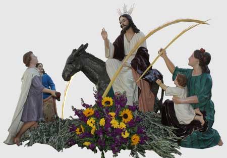 semana santa de herencia domingo de ramos