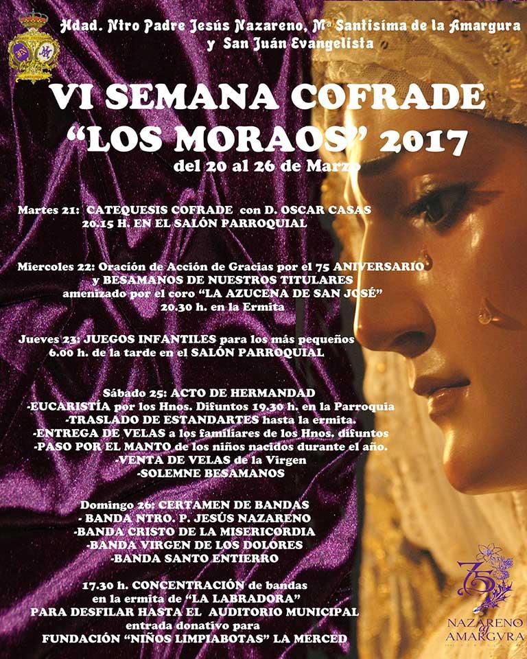 """VI Semana Cofrade de """"Los Moraos"""" de Herencia."""
