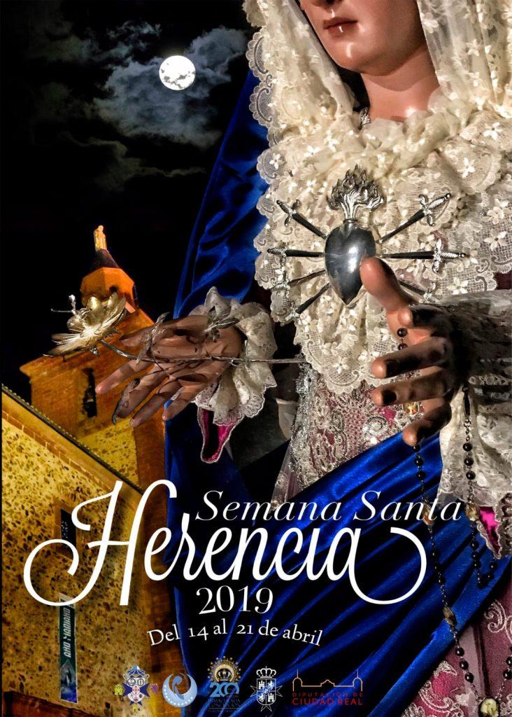 Cartel de la Semana Santa de Herencia 2019